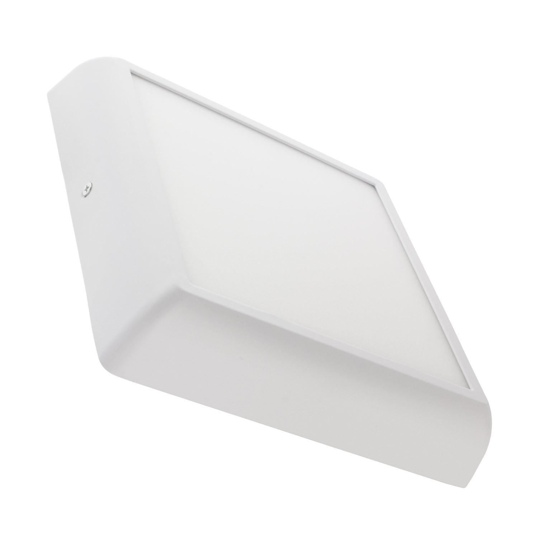 Placa Superfície LED Quadrada Design 18W White