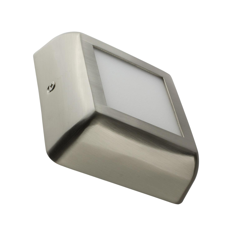 Placa Superfície LED Quadrada Silver Design 6W