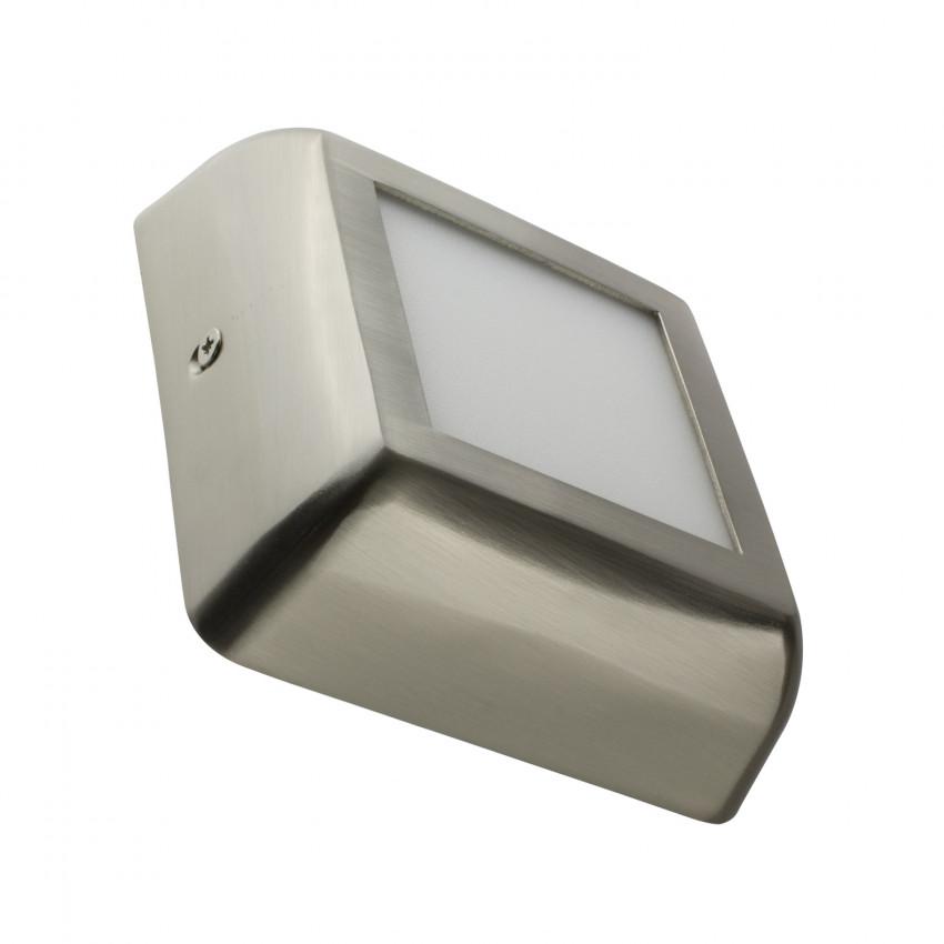 Plafón LED Cuadrado Design 6W Silver