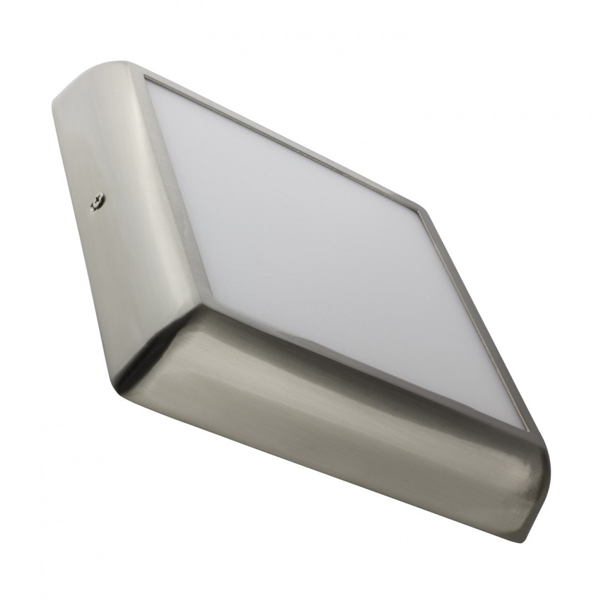 Plafón LED Cuadrado Design 18W Silver