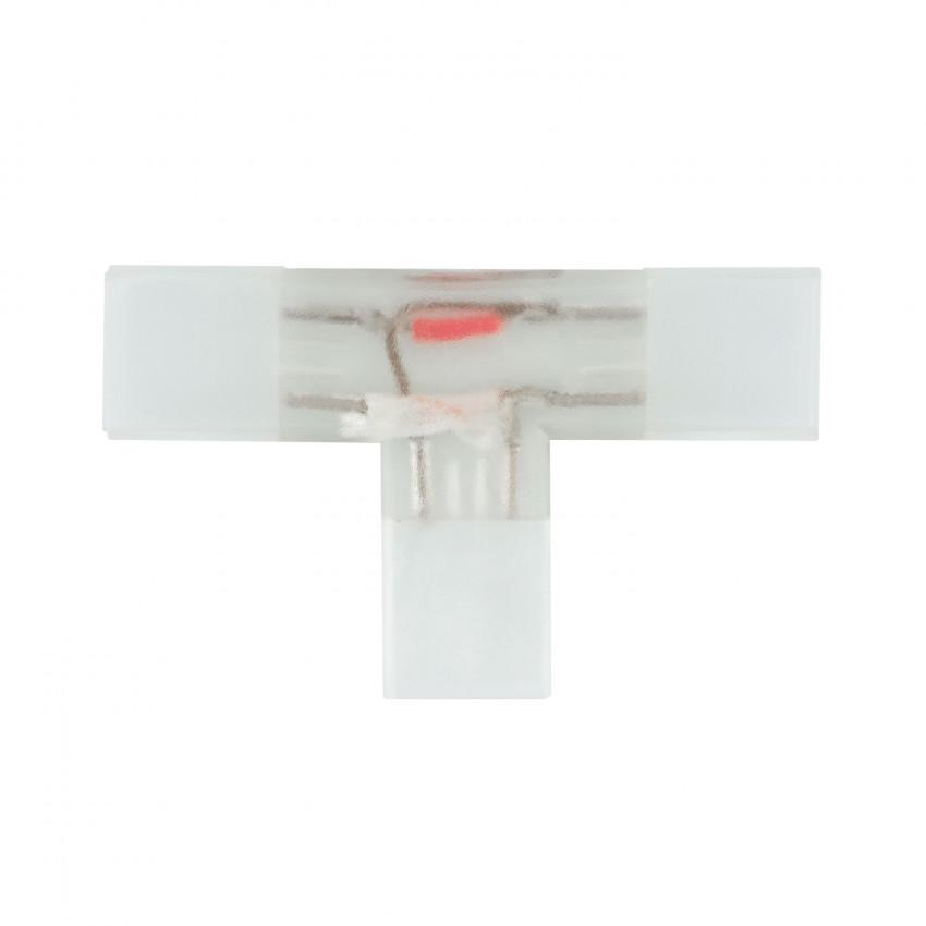 Conector Tipo T Fita LED SMD5050 Monocolor 220V AC Corte cada 100cm