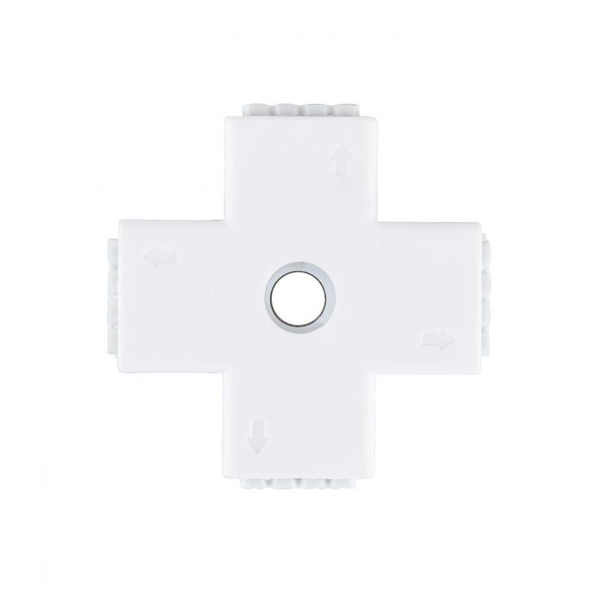 Conector Rápido Tipo 'X' Fita LED 12V RGB