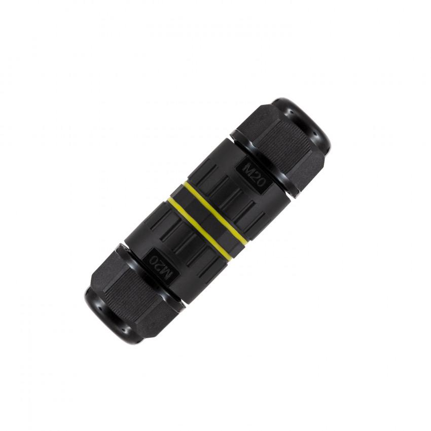 Conector de Cabo Hermético 3 Contactos 0.5mm²-4mm² IP68