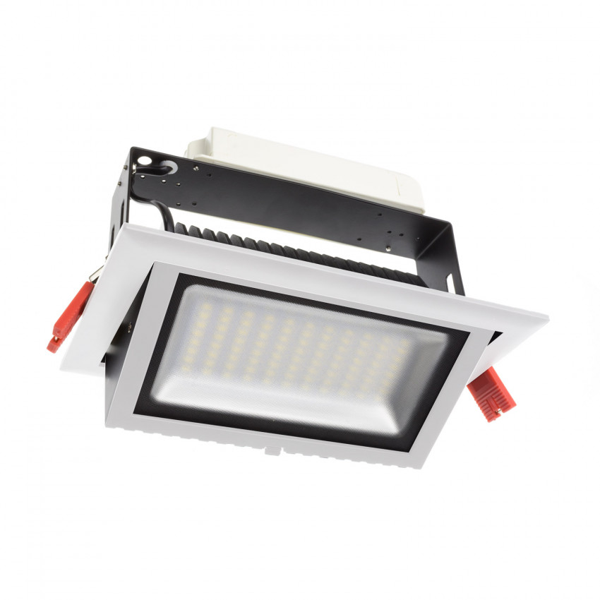 Foco Projector LED SAMSUNG 120lm/W Direccionável Rectangular Design 48W LIFUD