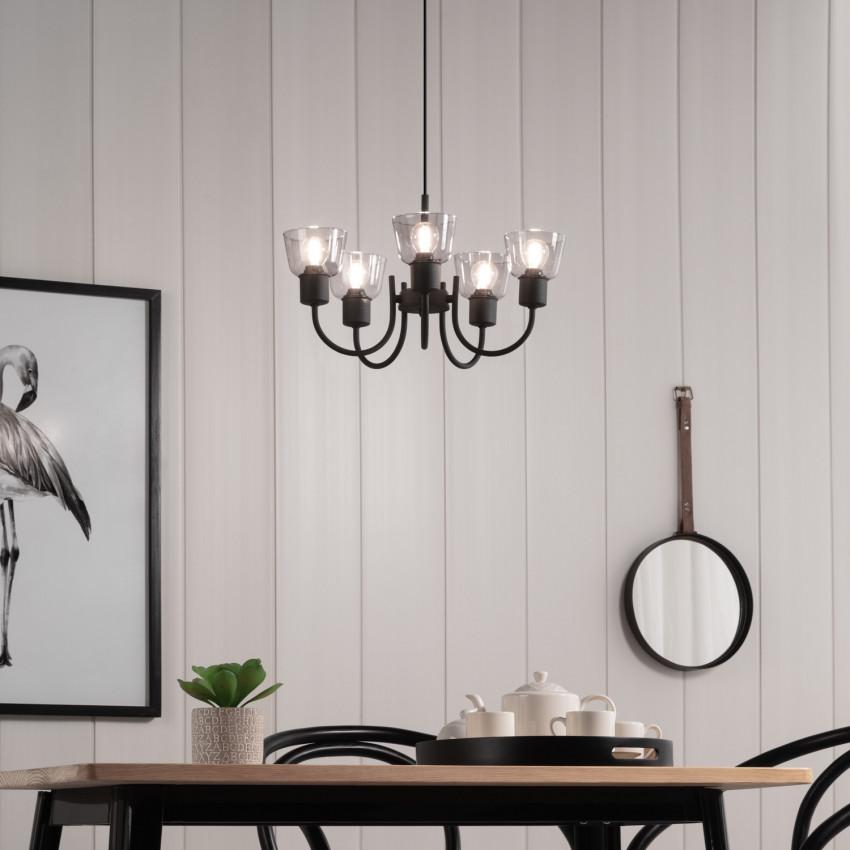 Lámpara Colgante Design Tivo 5 Focos