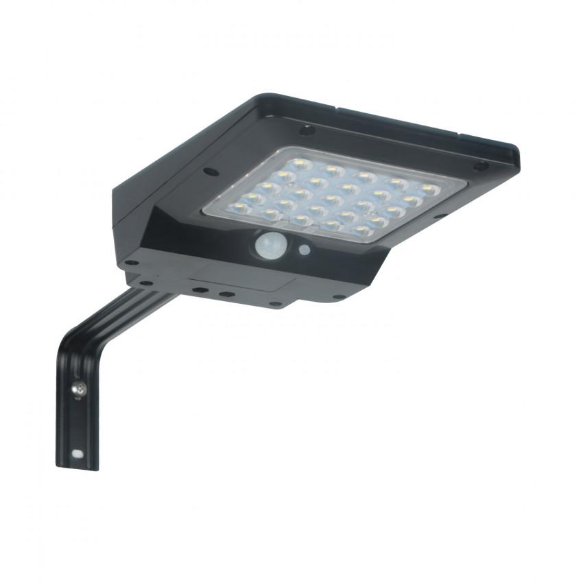 Luminaria LED 4W Solar con Sensor de Movimiento y Crepuscular