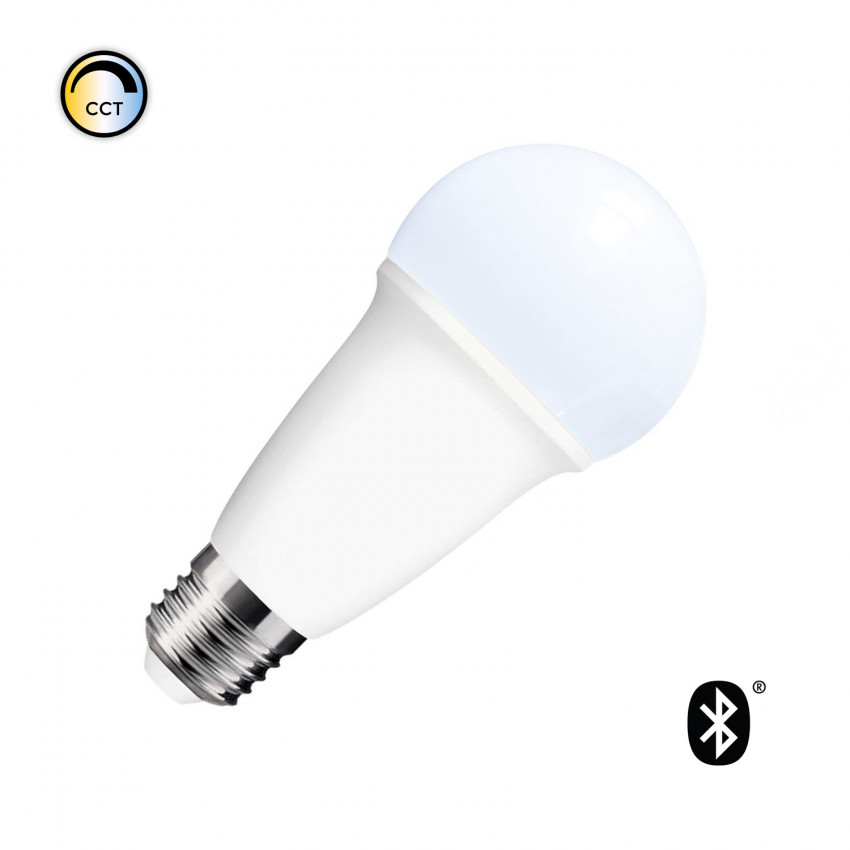 Lâmpada LED Smart Bluetooth E27 CCT Seleccionável 10W