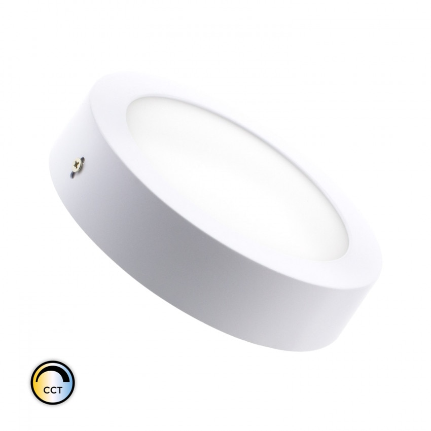 Plafón LED 18W CCT Seleccionable Circular Regulable