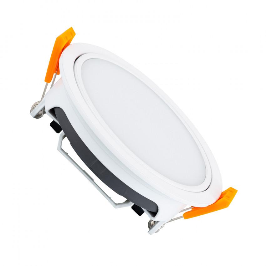Kit Empotrable con Módulo Circular LED 8W Corte Ø100 mm