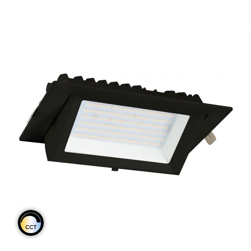 Foco Projector Direccionável Rectangular LED 48W Preto SAMSUNG 130lm/W CCT Seleccionável LIFUD