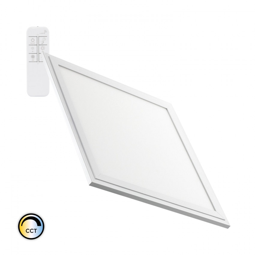 Panel LED 30x30cm 24W 2400lm Regulable CCT Seleccionable