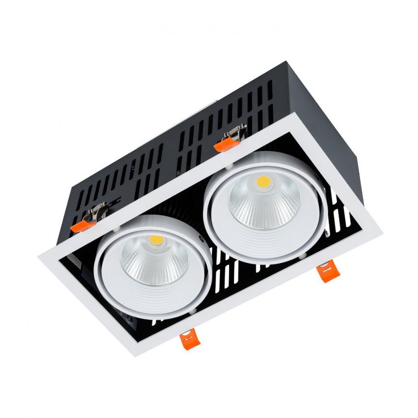 Foco Downlight LED SAMSUNG-COB Direccionável Grill 60W LIFUD Corte 270x140 mm