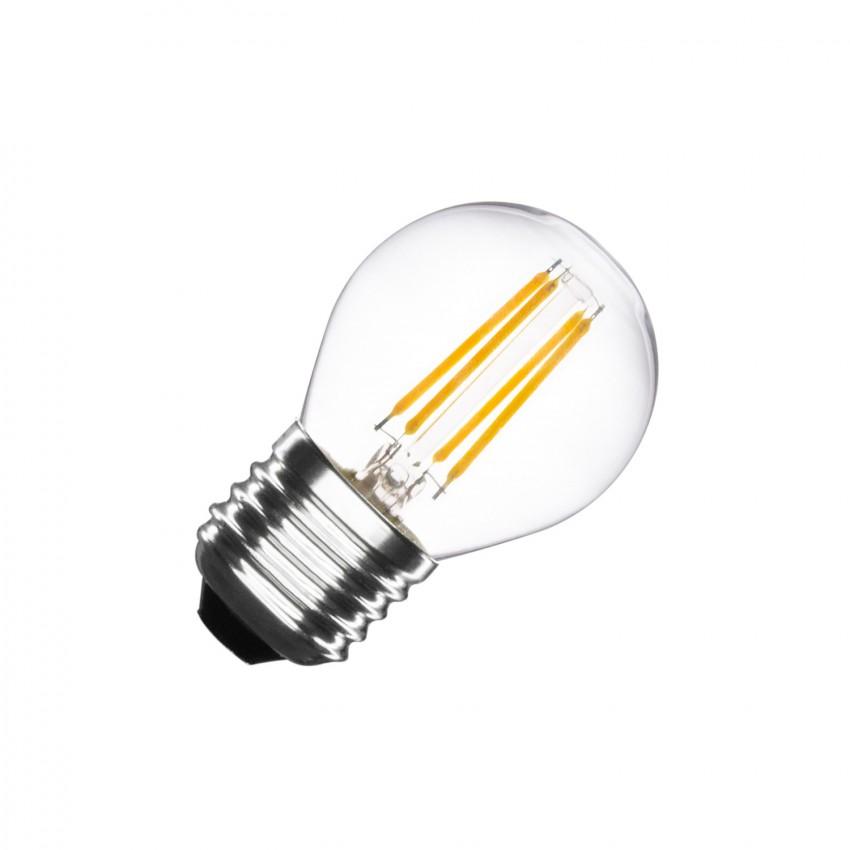 Bombilla LED E27 Filamento G45 4W