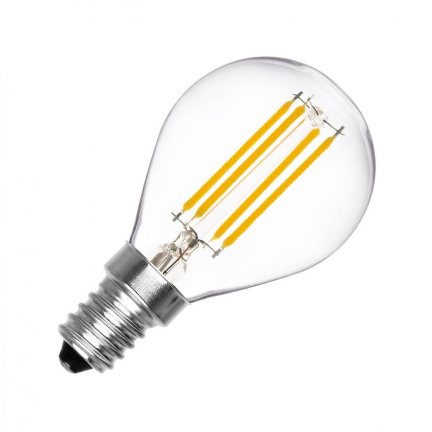 Bombilla LED E14 Filamento G45 4W