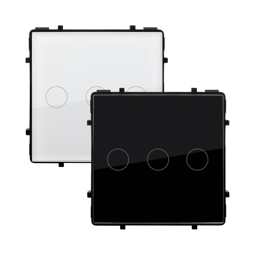 Interruptor Táctil Triple Comutado Modern