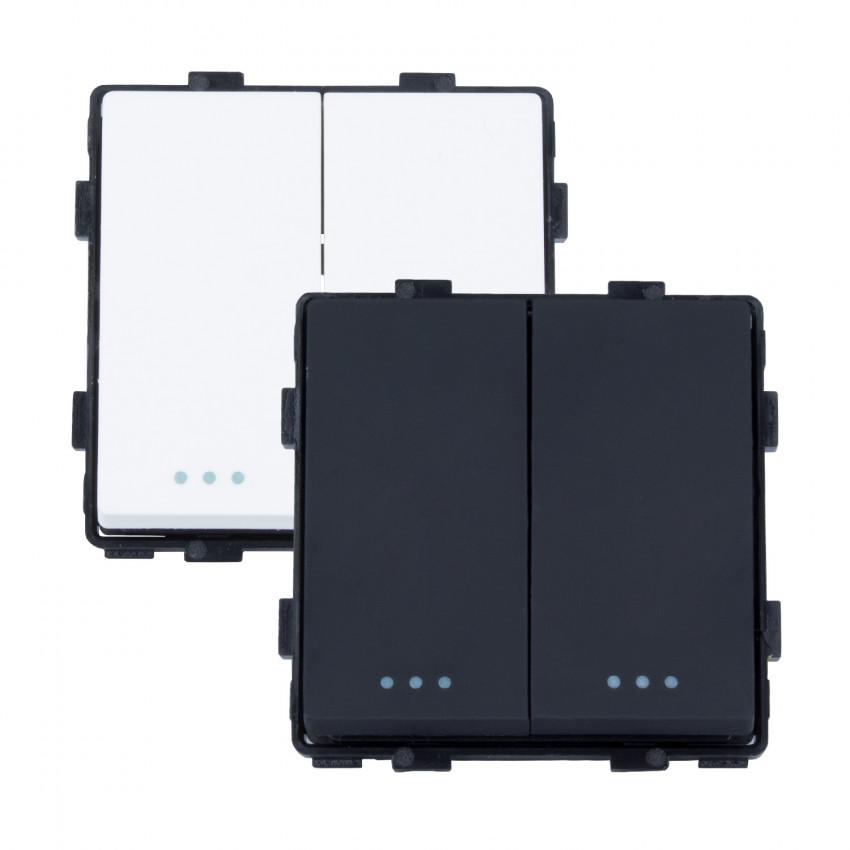 Interruptor Duplo Modern