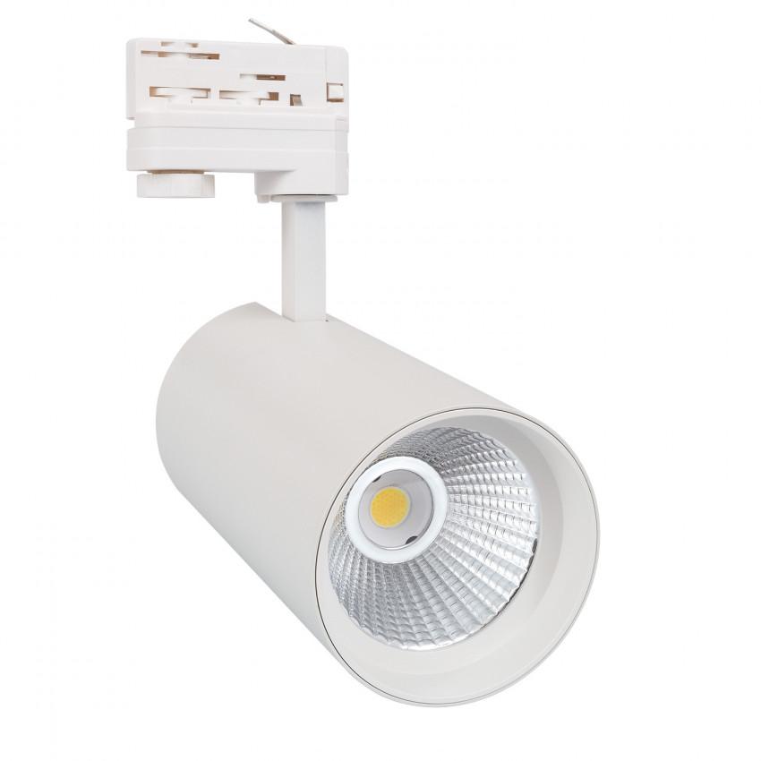 Foco LED New d'Angelo Branco 30W LIFUD para Carril Trifásico