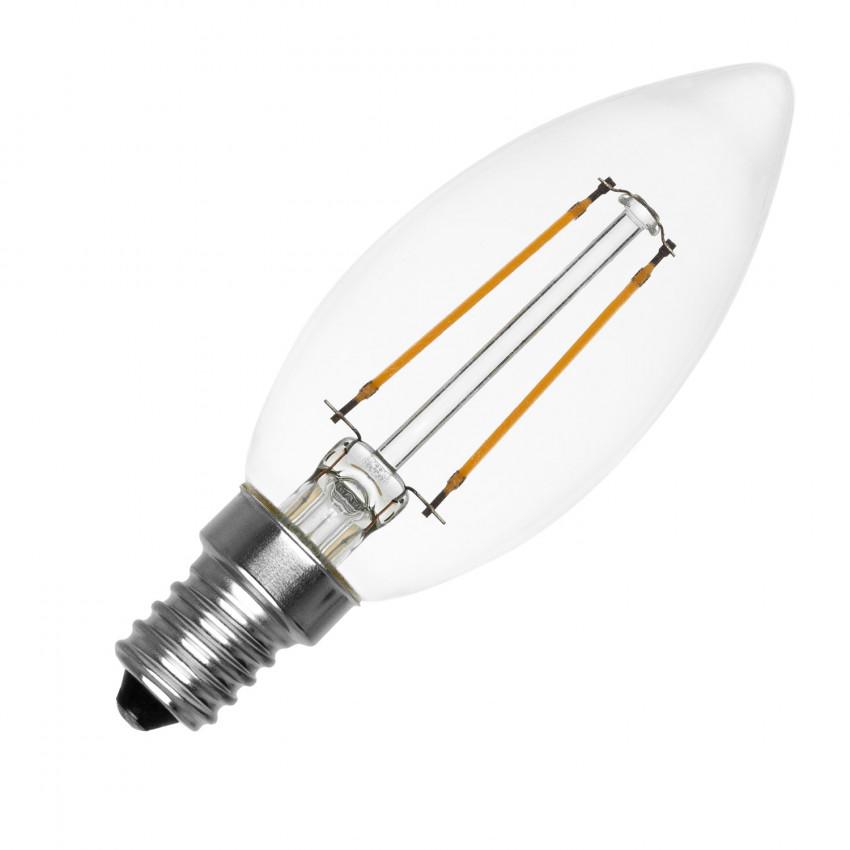 Lâmpada LED Philips E14 Filamento