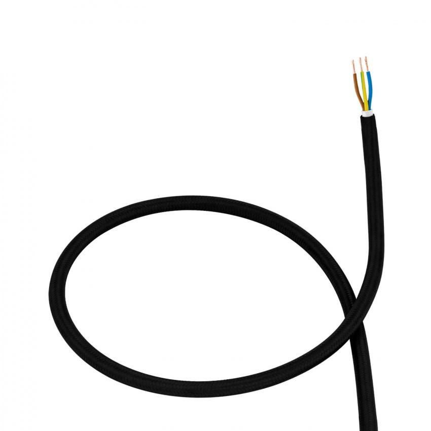 Cable Textil Negro