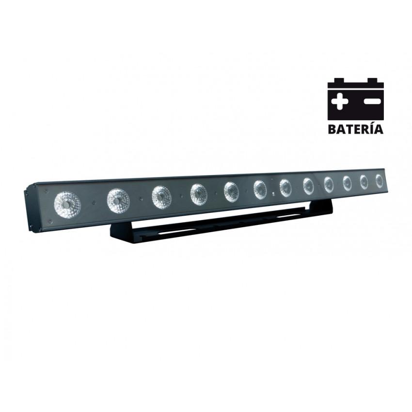 Barra Lineal LED Equipson MBAR BAT 144 WI RGBWA+UV DMX 144W com Bateria