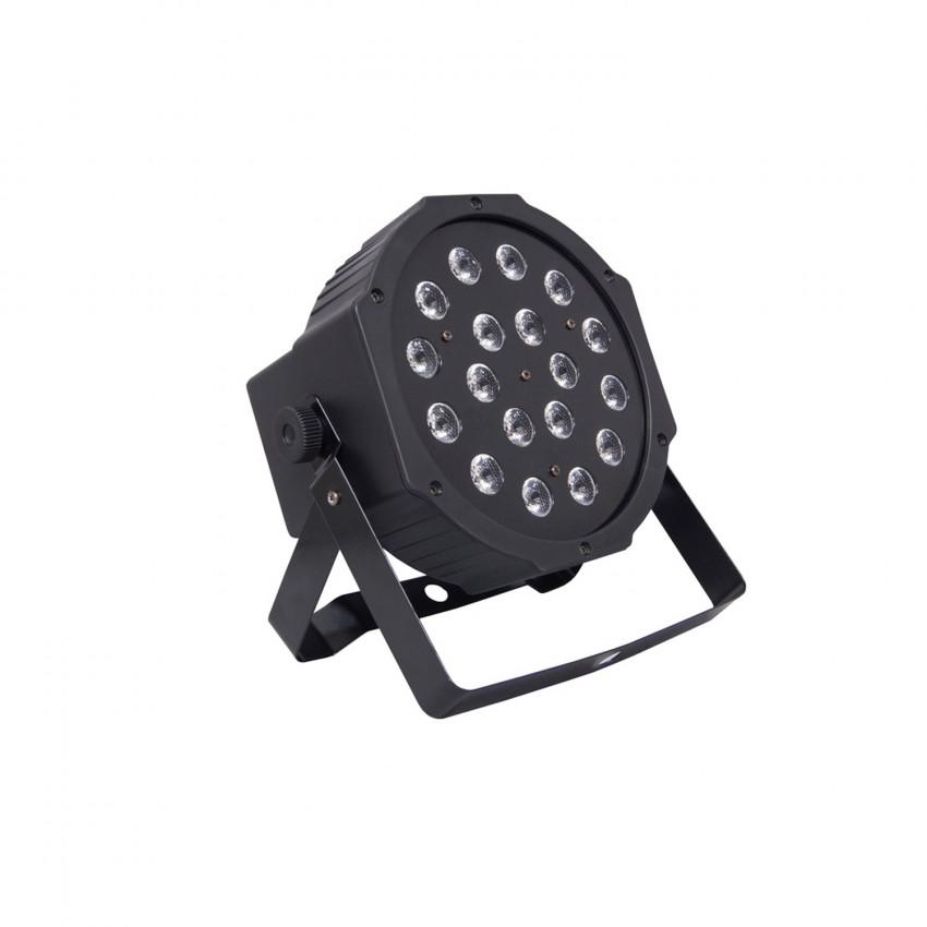 Foco Projector LED Equipson SUPERPARLED ECO 18 RGB DMX 18W