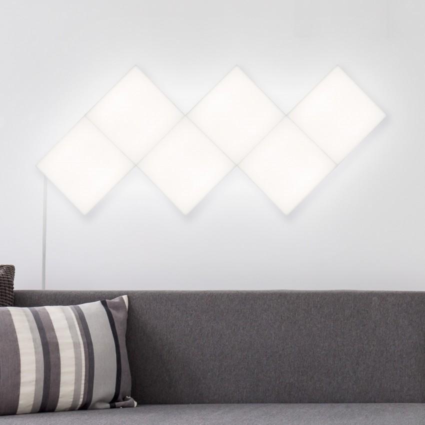 Panel LED Cuadrado 30x30cm 9.5W 800lm Extensión