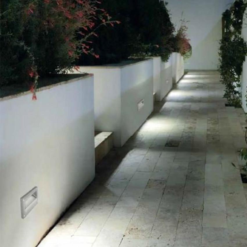 Baliza LED Encastrável em Parede Micenas 5.5W IP65 LEDS-C4 05-9832-34-CL