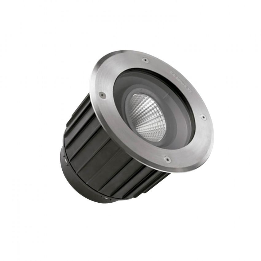 Foco LED Circular en Suelo Gea COB 16W IP67 LEDS-C4 55-9907-CA-CL
