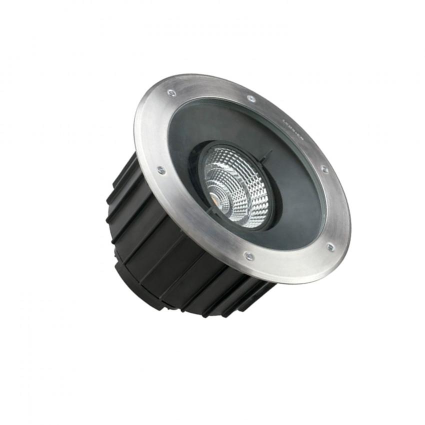 Foco LED Circular Empotrable en Suelo Gea COB 35W IP67 LEDS-C4 55-9972-CA-CM