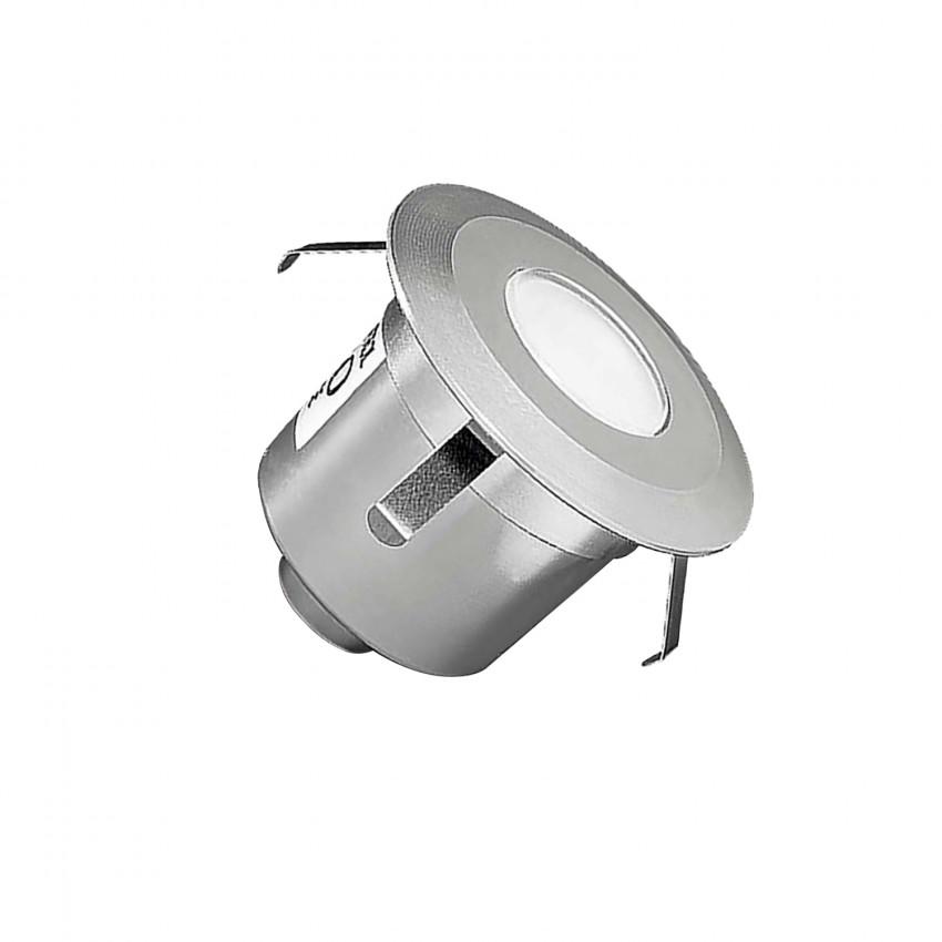 Foco LED Circular Encastrável de Chão Gea Signaling 1W IP67 LEDS-C4 55-9769-54-T2