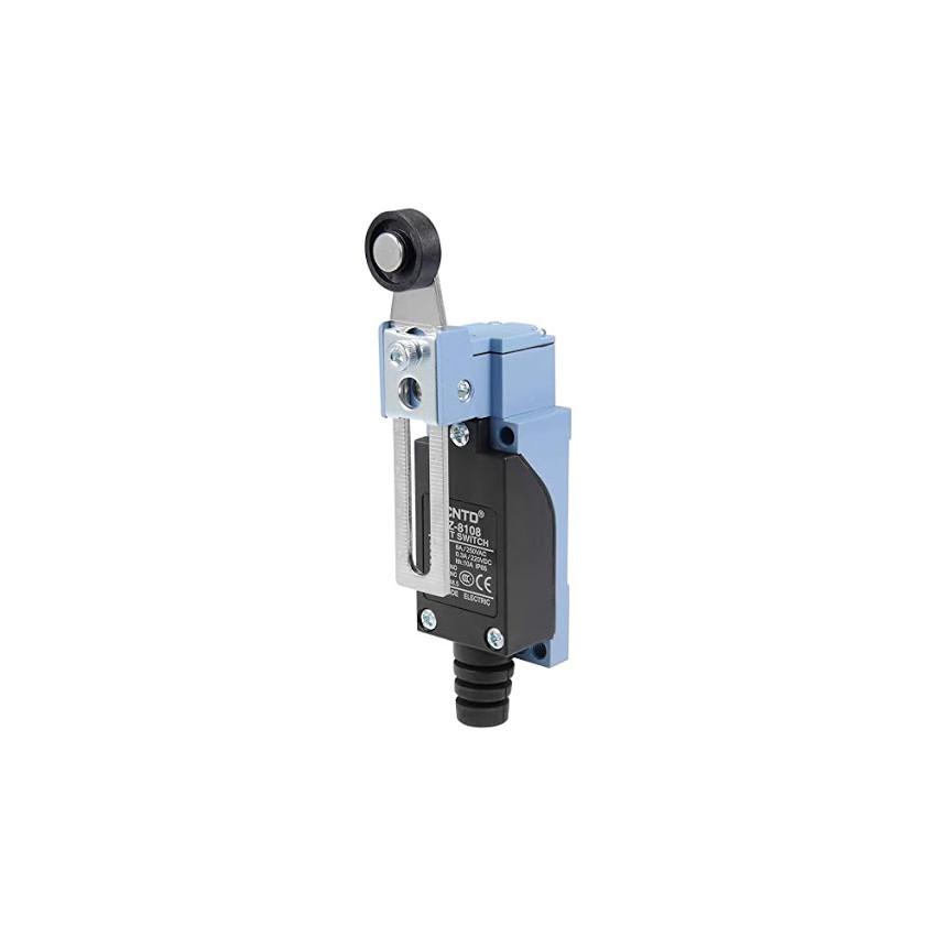 Interruptor de Limite de Alavanca MAXGE com Roldana Plástica Regulável