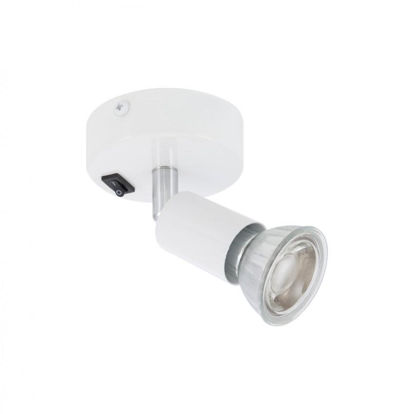 Aplique Orientável Oasis 1 Foco Branco com Interruptor