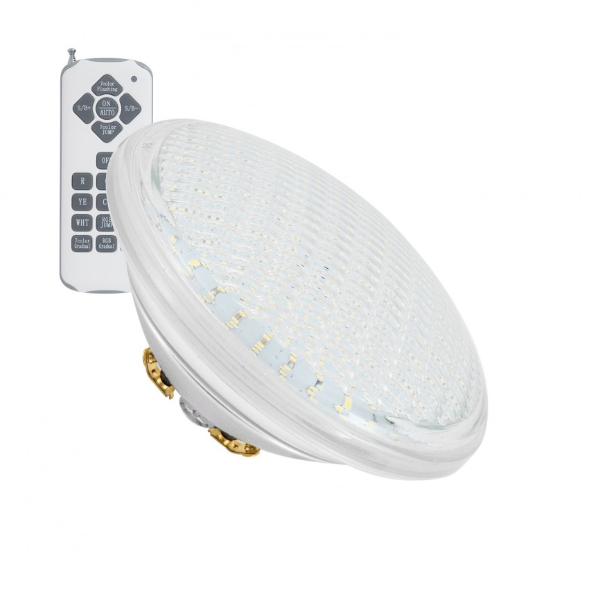 Bombilla LED RGB PAR56 Piscina Sumergible 12V IP68 35W
