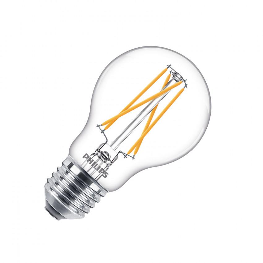 Lâmpada LED E27 A60 Regulável Filamento PHILIPS CLA Classic 6,7W (CRI 90) True Color