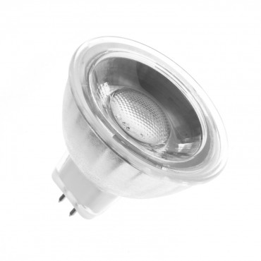 Lámpara LED GU5.3 MR16 COB Cristal 12V  5W