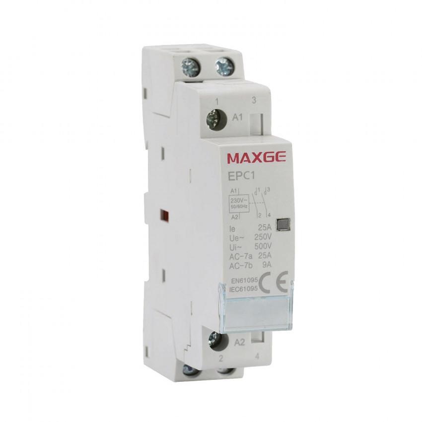 Contactor MAXGE 2P-25A-230V AC