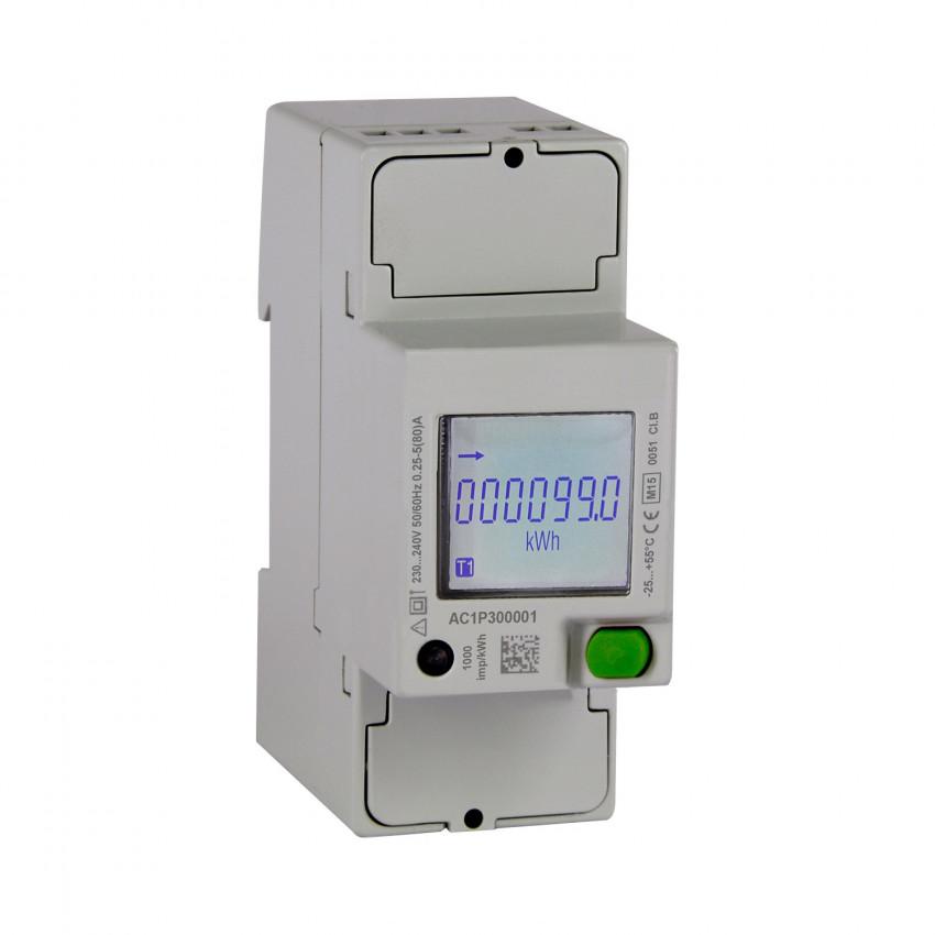 Contador Monofásico de Energía Direta MAXGE 40A com Comunicação RS485