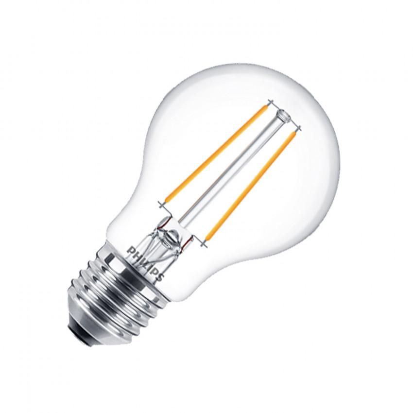 Bombilla LED E27 A60 Filamento PHILIPS CLA Classic 5.5W