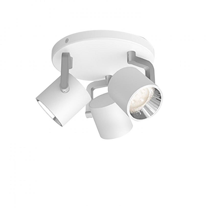 Lámpara de Techo LED PHILIPS Byrl 3x4,3W 3 Focos
