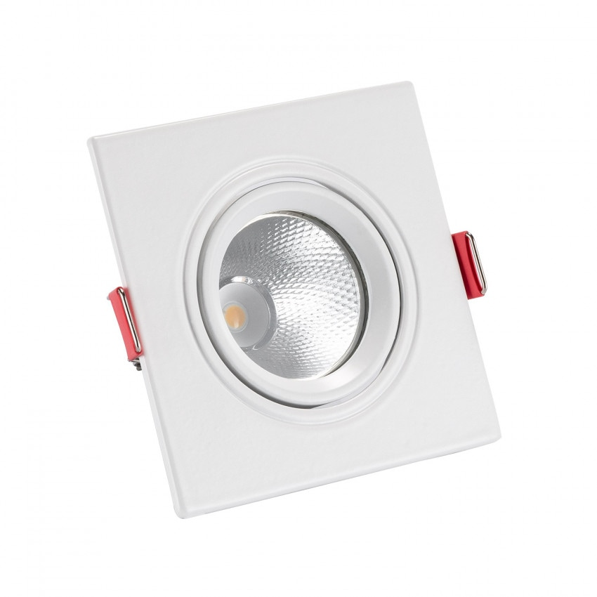 Foco Downlight LED COB Quadrado New Madison 5W (UGR19) Corte Ø 75 mm