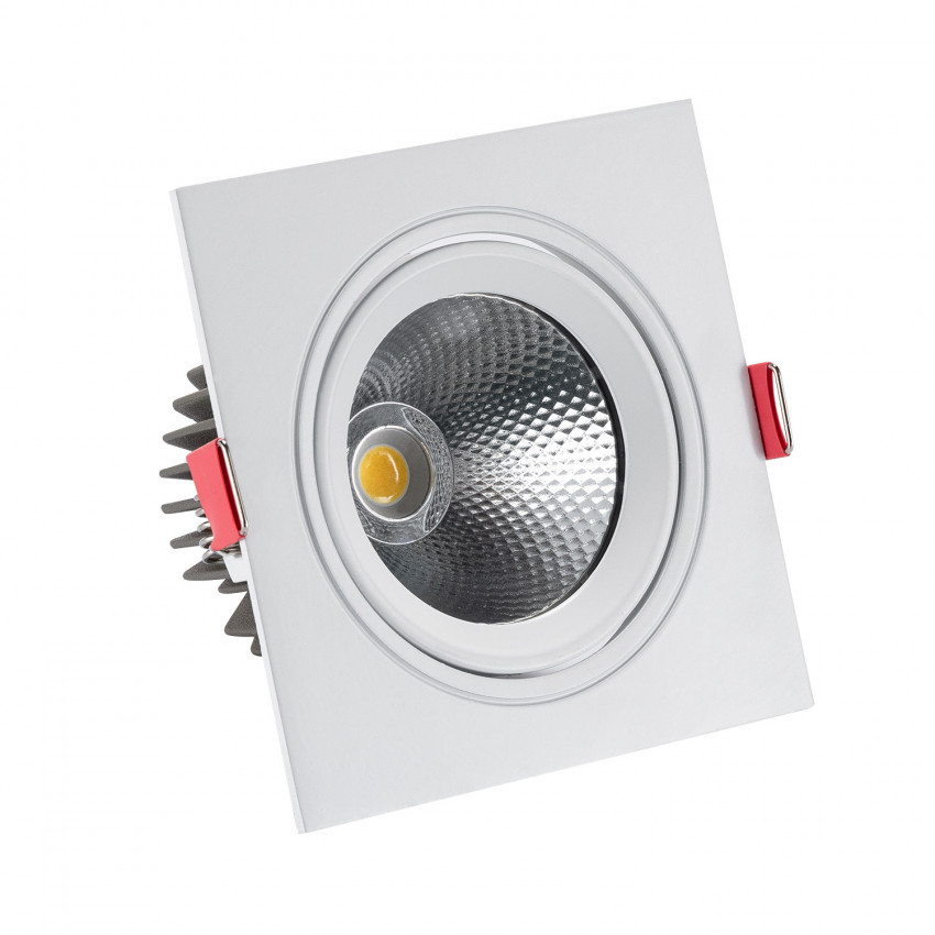 Foco Downlight LED 10W COB Cuadrado New Madison (UGR19) Corte Ø 95 mm