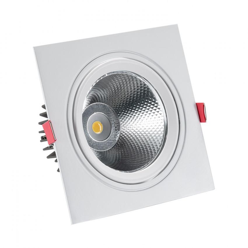 Foco Downlight LED 15W COB Cuadrado New Madison (UGR19) Corte Ø 115 mm