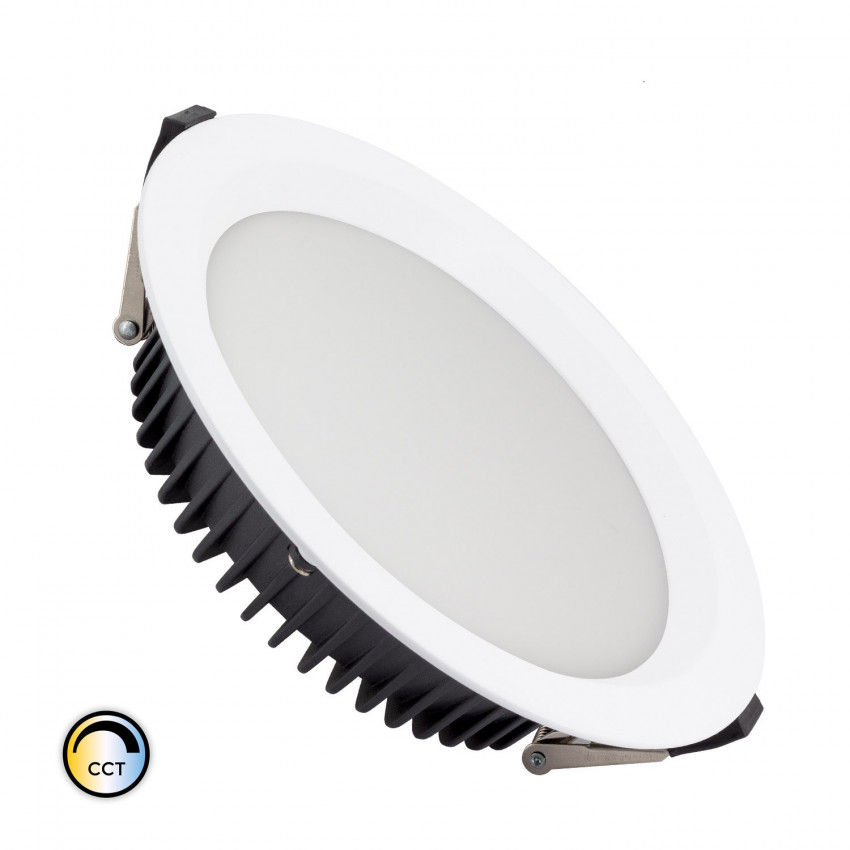 Downight LED New Aero Slim CCT Seleccionável 20W (UGR19) LIFUD Corte Ø 155 mm