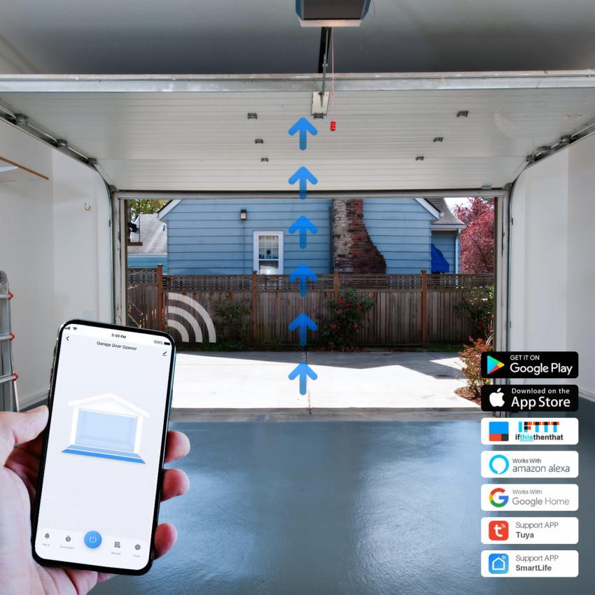Controlador de Porta de Garagem Smart WI-Fi