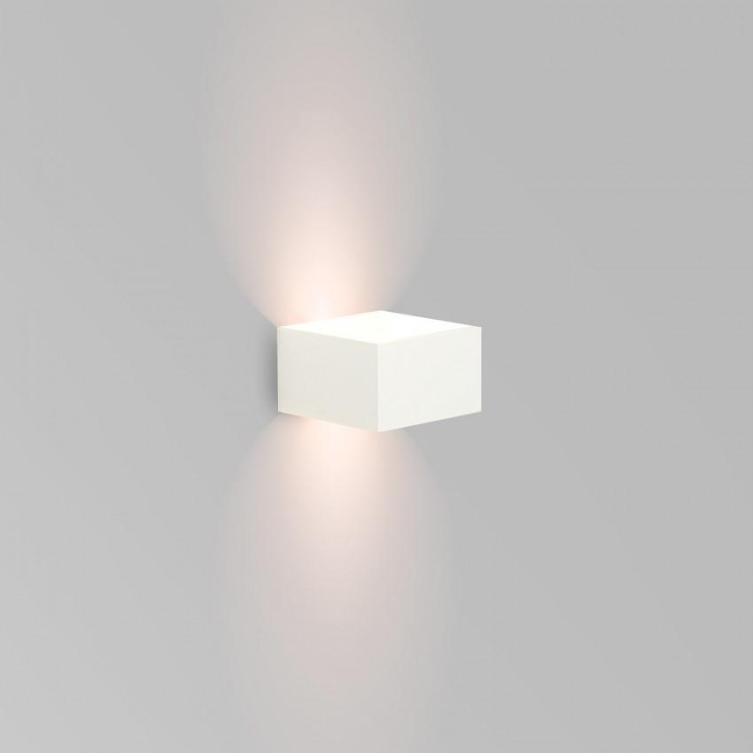 Aplique LED Lico 6W Branco Iluminação Dupla