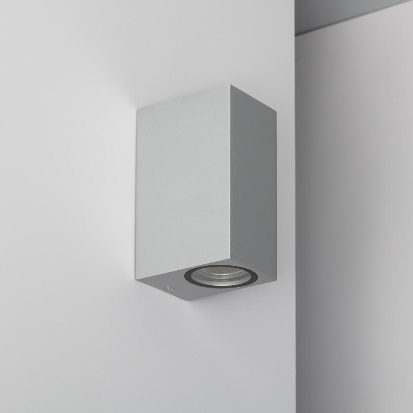 Aplique Miseno Plata Iluminación Doble Cara