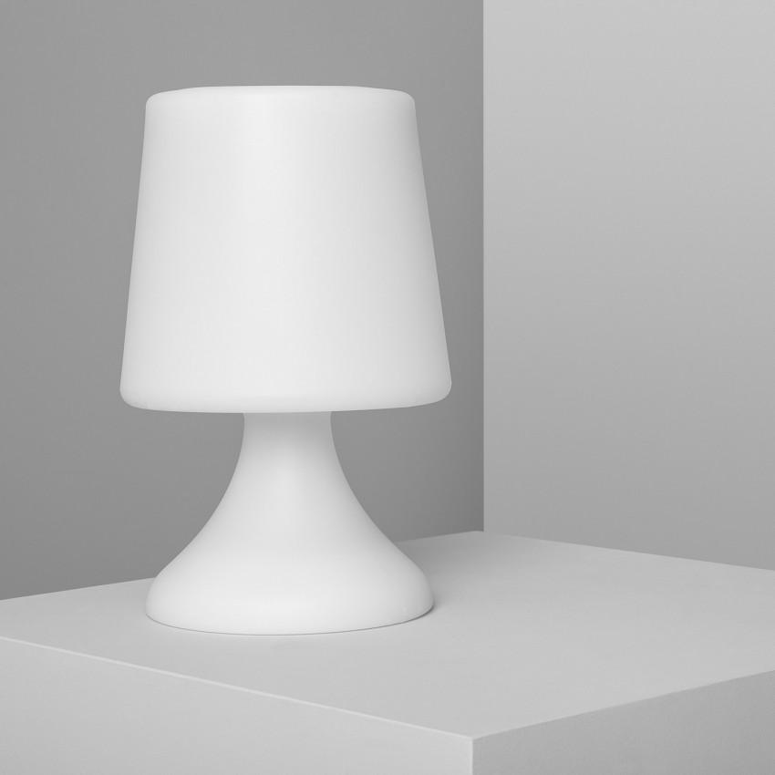 Lámpara de Mesa LED RGBW Portatil con Altavoz Bluetooth Uyoga para Exterior con Batería USB Recargable