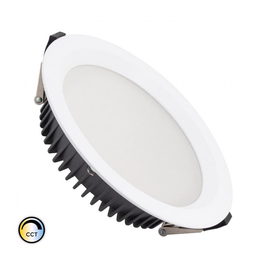 Downlight LED 40W New Aero Slim CCT Seleccionável (UGR17) LIFUD Ø 240 mm