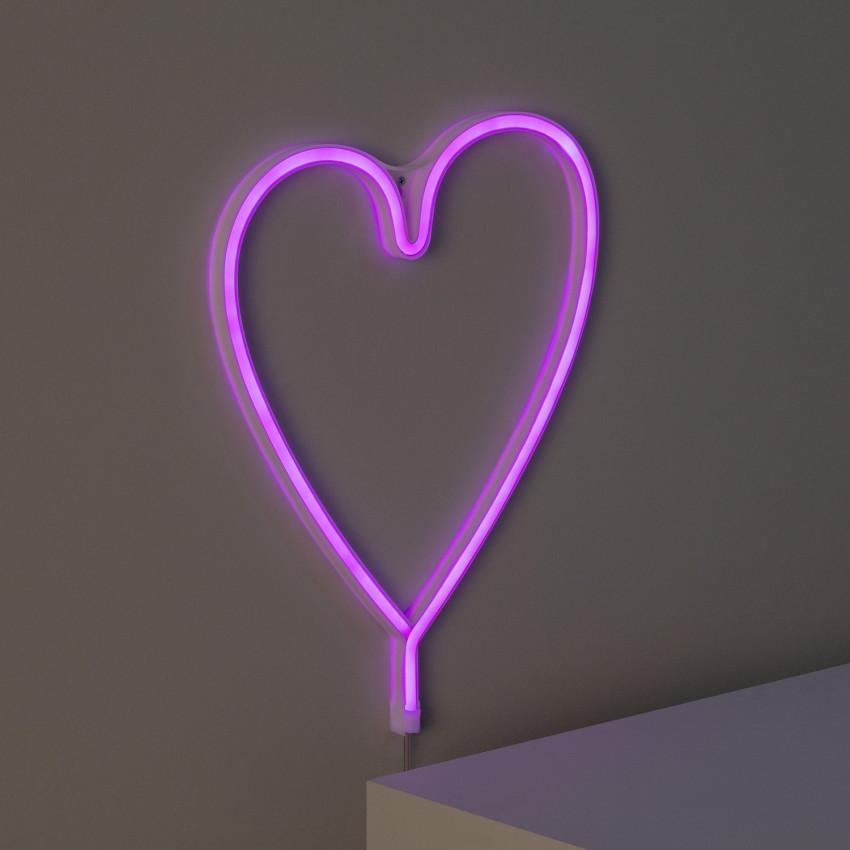 Neón LED Heart con Batería