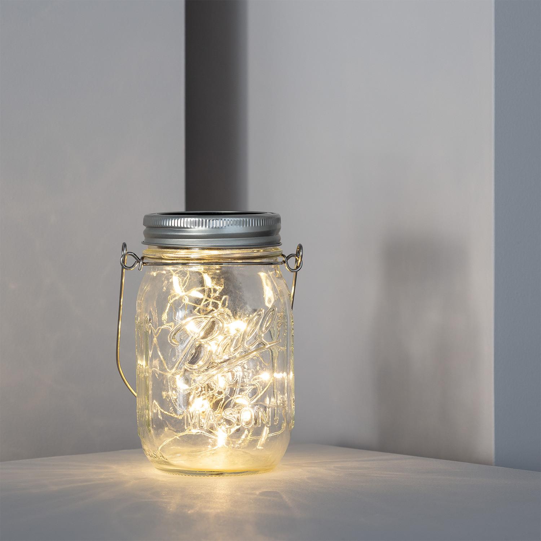 Lámpara LED Tarro Solar